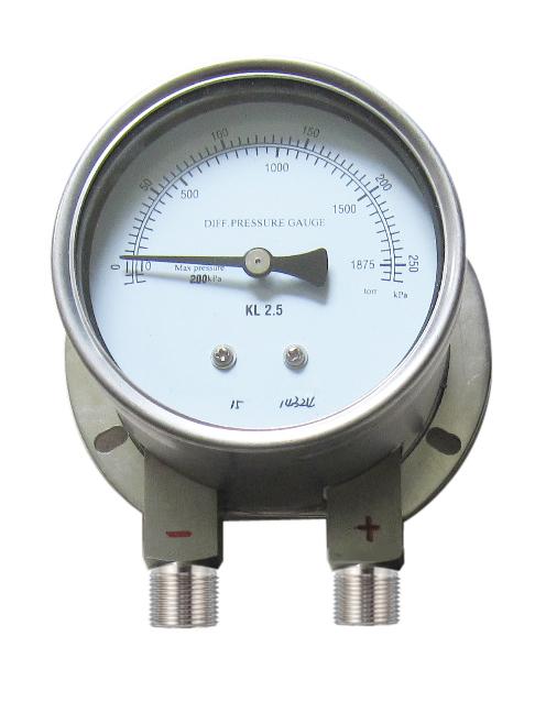 Đồng hồ đo chênh áp - HG/ China